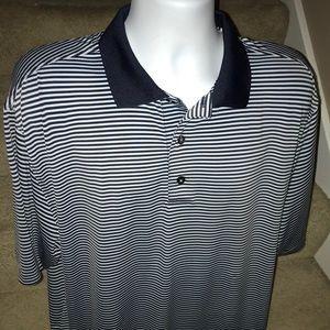 *FootJoy* FJ stretchy casual golf polo shirt - L